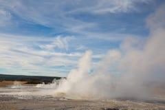 Abaissez le bassin de geyser Photographie stock libre de droits