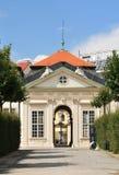 Abaissez le belvédère à Vienne, Autriche Photos stock