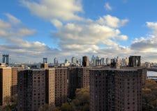 Abaissez le côté est New York Image libre de droits