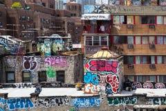 Abaissez le côté est NYC Photographie stock