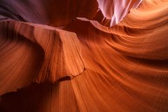 Abaissez le canyon d'antilope Photos stock