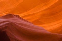 Abaissez le canyon d'antilope Photo stock