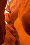 Abaissez le canyon d'antilope Photographie stock