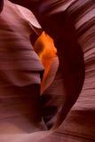 Abaissez le canyon d'antilope, Arizona du nord, Etats-Unis Images stock