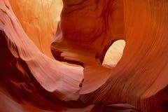 Abaissez le canyon d'antilope, Arizona, Etats-Unis Images libres de droits