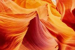 Abaissez le canyon d'antilope, Arizona Etats-Unis Photo libre de droits