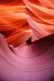 Abaissez le canyon d'antilope en Arizona Etats-Unis Image stock