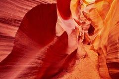 Abaissez le canyon d'antilope près de la page, Arizona, Etats-Unis Image stock