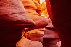 Abaissez le canyon d'antilope près de la page, Arizona, Etats-Unis Images stock
