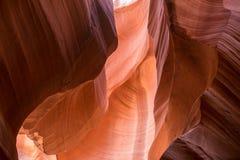 Abaissez le canyon IV d'antilope Photographie stock