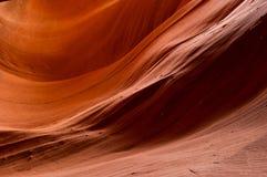 Abaissez le détail de canyon d'antilope Photos libres de droits