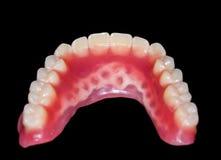 Abaissez le dentier Images libres de droits