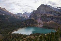 Abaissez le lac Grinnell Photo libre de droits