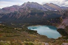Abaissez le lac Grinnell Images stock