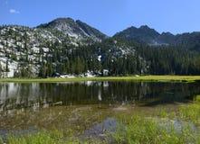Abaissez le lac Hoffer Image libre de droits