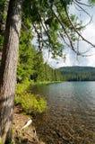 Abaissez le lac jumeau Image stock