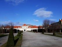 Abaissez le palais de belvédère à Vienne Photographie stock