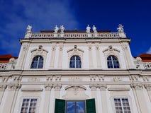Abaissez le palais de belvédère à Vienne Image stock