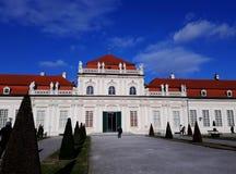 Abaissez le palais de belvédère à Vienne Photos libres de droits