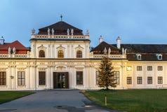 Abaissez le palais de belvédère, Vienne Photos libres de droits