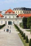 Abaissez le palais de belvédère, Vienne, Autriche Photographie stock