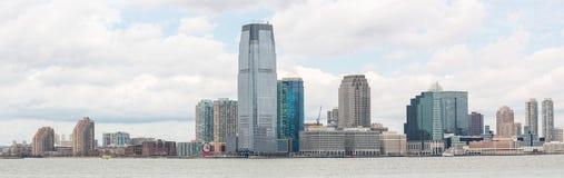 Abaissez le panorama de Manhatta NYC Photographie stock libre de droits