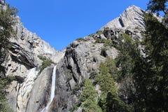 Abaissez le parc national de Yosemite Falls Yosemite Image stock