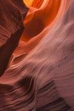 Abaissez le plan rapproché de grès de canyon d'antilope Photographie stock