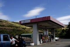 Abaissez le prix du gaz dans Juliaette le comté de Latah Image libre de droits