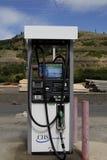 Abaissez le prix du gaz dans Juliaette le comté de Latah Image stock