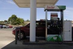Abaissez le prix du gaz dans Juliaette le comté de Latah Photographie stock