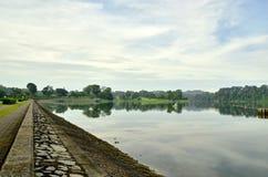 Abaissez le réservoir Zen Path de Peirce Photographie stock libre de droits