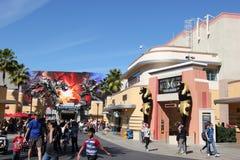Abaissez le sort aux studios universels Hollywood Image libre de droits