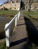 Abaissez le village d'abattage le Cotswolds Gloucestershire les Midlands Angleterre Photographie stock