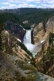 Abaissez les automnes dans Yellowstone Photos stock