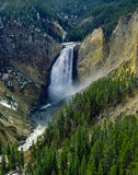 Abaissez les automnes, parc national de Yellowstone Images stock