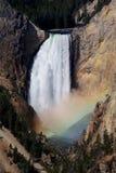 Abaissez les automnes, Yellowstone Photographie stock libre de droits