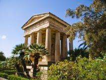 Abaissez les jardins de Baracca, La Valette Images libres de droits