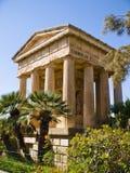 Abaissez les jardins de Baracca, La Valette Image stock