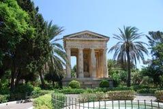 Abaissez les jardins de Barracca Image libre de droits