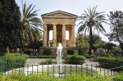 Abaissez les jardins de Barrakka Photographie stock libre de droits