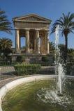 Abaissez les jardins de Barrakka Image libre de droits