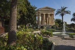 Abaissez les jardins de Barrakka Image stock