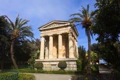 Abaissez les jardins de Barrakka, La Valette Image stock