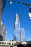 Abaissez mahattan et un World Trade Center Photo libre de droits