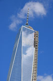 Abaissez mahattan et un World Trade Center Photographie stock