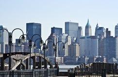 Abaissez Manhattan Image stock
