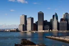 abaissez Manhattan Images libres de droits