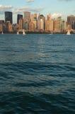 abaissez Manhattan Photos libres de droits
