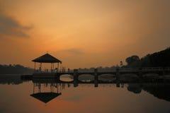 Abaissez Pierce Reservoir 2 Photographie stock